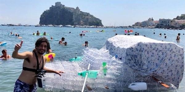 Alberto Azario - Operazione spiaggia pulita