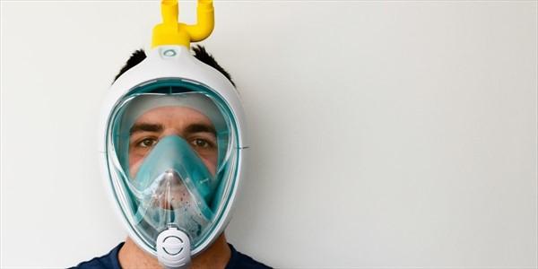 Alberto Azario - Coronavirus da maschera per snorkeling a respiratore